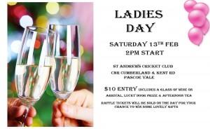 Ladies day St Andrews 13Feb2016