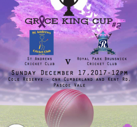 Grace King Cup 2 flyer