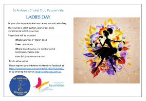 ladies day invite