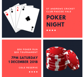 Poker Night 2018 social