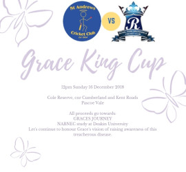 Grace King Cup 2018